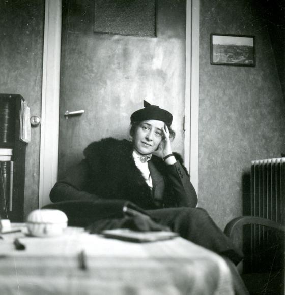 Hannah Arendt archivo privado